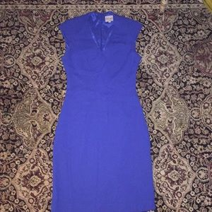 Reiss royal blue dress